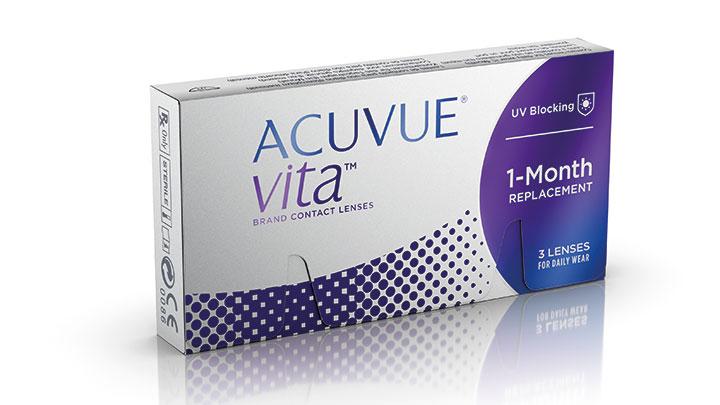 Acuvue Vita packshoot