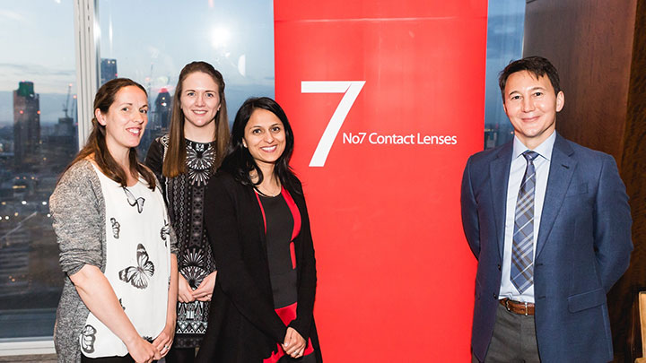 No 7 Contact Lenses launches new ICD FlexFit scleral lens at event in the Shard