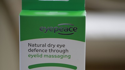 First personal eyelid massager launched in the UK
