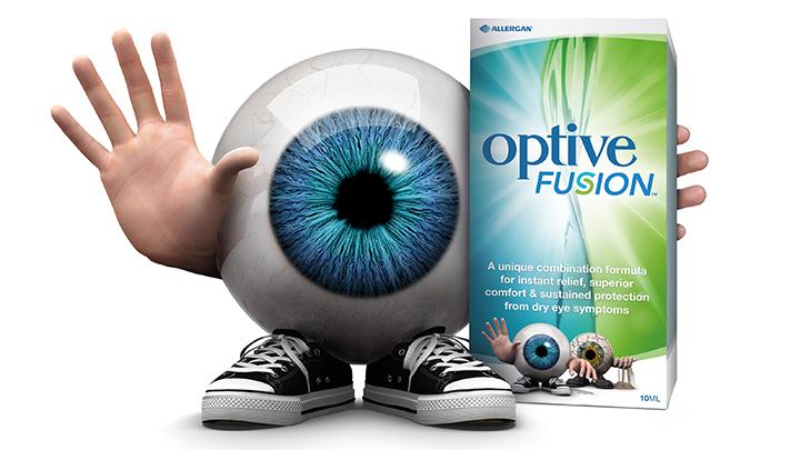 Allergan Optive Fusion eye drops