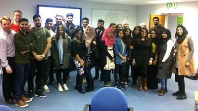 Bradford students at Keeler