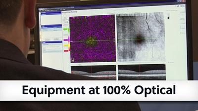 Equipment advances on show at 100 Optical