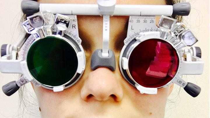 Louis Stone Oculus UB 6 trial frame