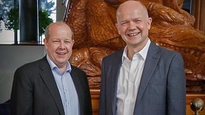Trevor Rowley and William Hague