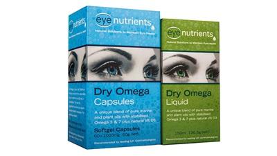 Eyenutrients Dry Omega capsules