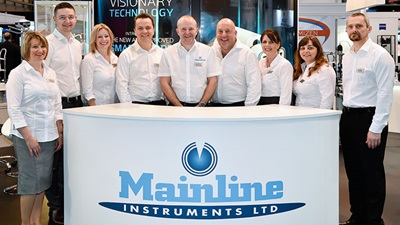 The Mainline Instruments Ltd team pictured at Optrafair 2017