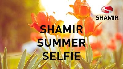 Shamir selfie competition banner
