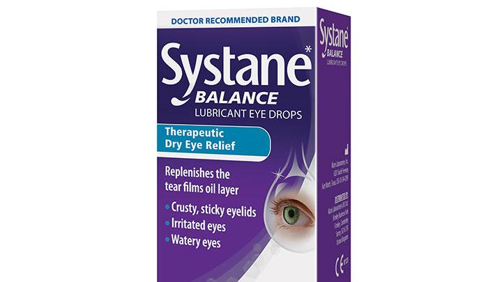 Systane eye drops