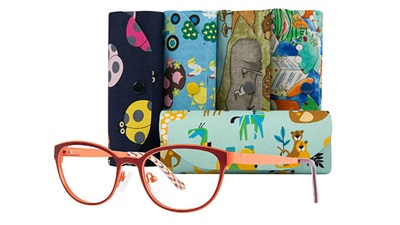 Dunelm Optical spectacles and cases