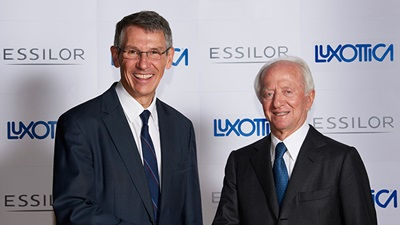 Hubert Sagnières and Leonardo Del Vecchio