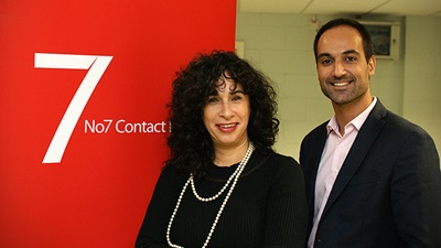 Sonia Velosa and Andre Goncalves