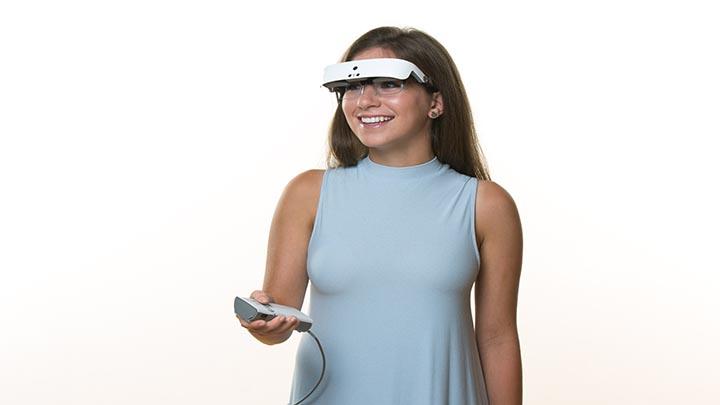 Optical women eSight