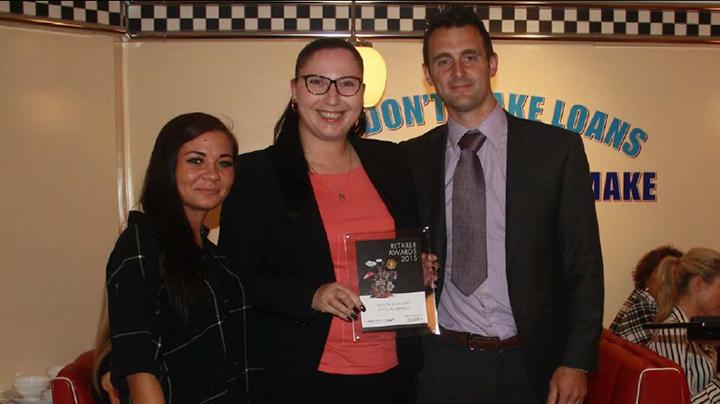 Optical Express clinic wins health retailer award