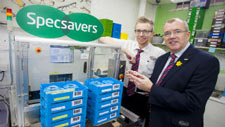 specsavers in bikenhead after refurbishment