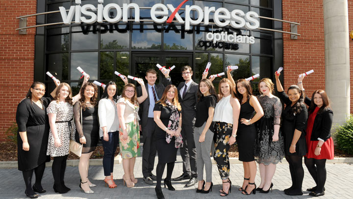 vision express apprenticeships