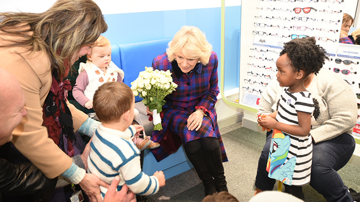 Duchess of Cornwall supports literacy campaign