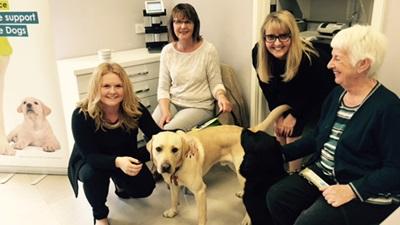 Edmonds and Slatter charity dog walk