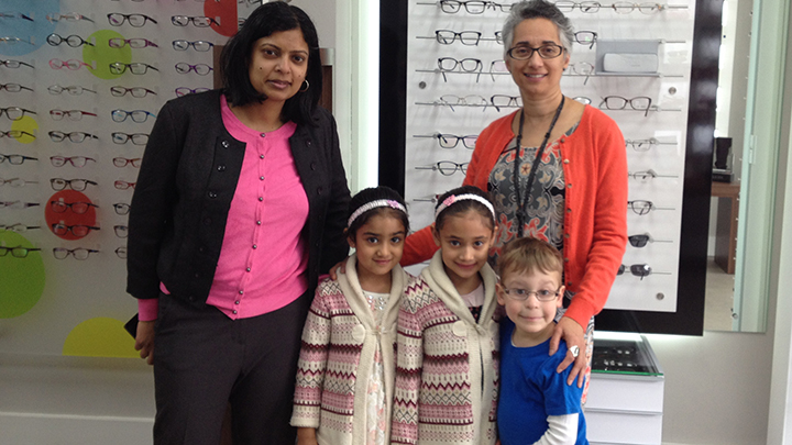 MP Rupa Huq visits Hynes Optometrists