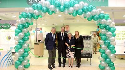 Specsavers Sainsburys opening