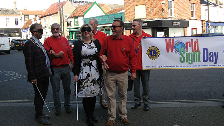 Blindfold walk in Beccles