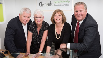 Black & Lizars celebrates the acquisition of Clements Hearing Services in Glasgow