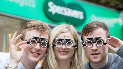 Specsavers trial frame donation