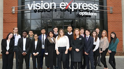 Vision Express apprenticeship scheme