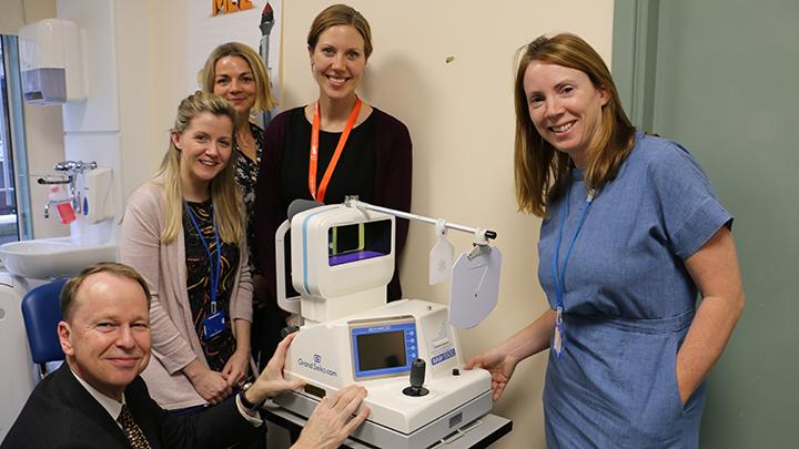 Vision Express children's hospital donation