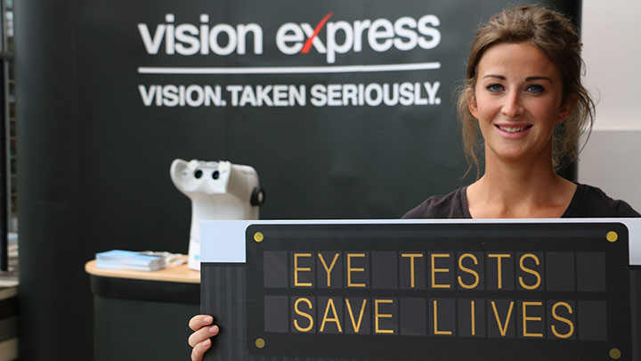 Vision Express driving campaign