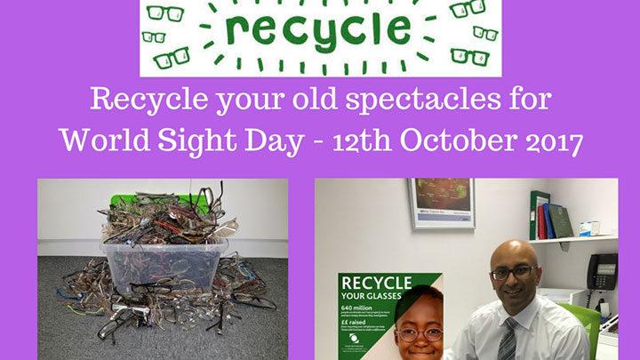 Edmonds & Slatter Opticians participates in the Vision Aid Overseas spectacle recycling programme