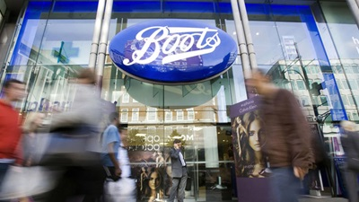Exterior of a Boots store