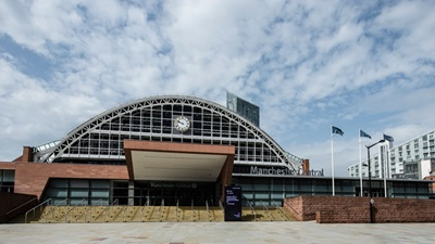 Exterior of Manchester Convention Centre