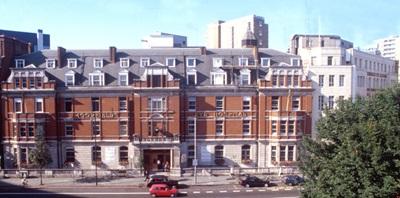 Exterior of Moorfields Eye Hospital