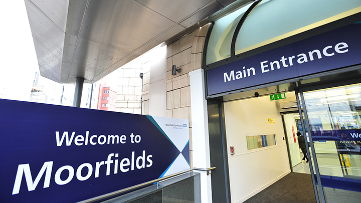 Moorfields Eye Hospital entrance