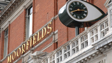 Exterior of Moorfields Eye Hospital