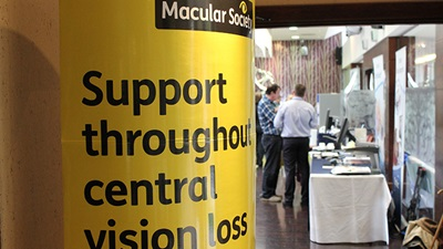 Poster for the Macular Society