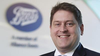 Managing director of Boots Opticians, Ben Fletcher