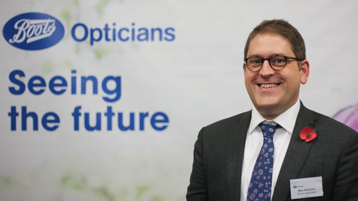 Boots Opticians' managing director, Ben Fletcher