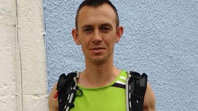 Ultra-marathon runner and Fight for Sight fundraiser, Dan Blythe