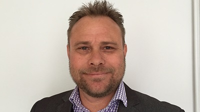 New area sales manager, Gavin Purse