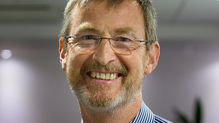 Professional adviser at the AOP, Geoff Roberson