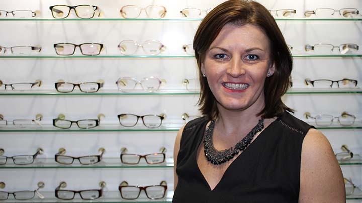 Optical Express' professional development director, Geraldine Meade