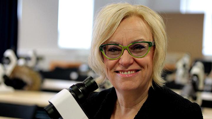 Anglia Ruskin course leader, Julie Hughes