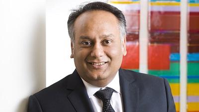 Johnson & Johnson's director of professional affairs, Kamlesh Chauhan