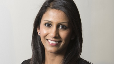 New professional services manager for the UK and Ireland at CooperVision, Krupa Patel