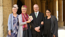 Dr Maggie Woodhouse receives OBE