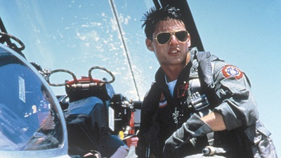 Tom Cruise in Topgun