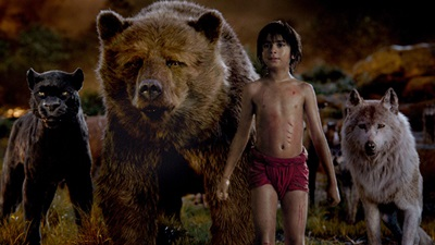 A still from The Jungle Book (2016)