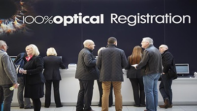 100 Optical% registration desk