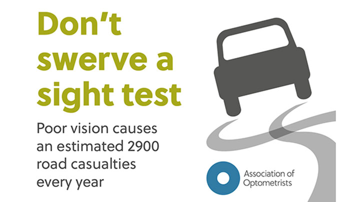 Don't swerve a sight test campaign